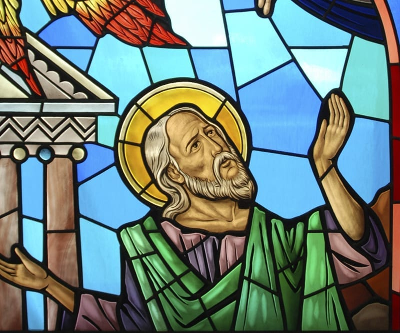 St. John the Evangelist, Birchwood, WI - Stained Glass