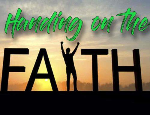 Handing on the Faith – Why do We Suffer?