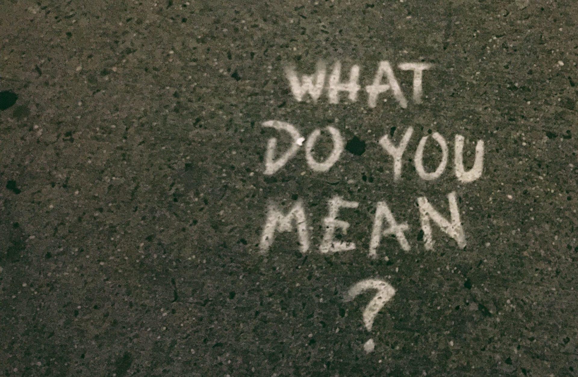 A Dumb Question?
